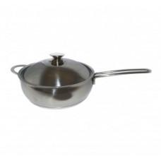 Сковорода 3,0л. с металлической крышкой (серия Магнолия Классика)